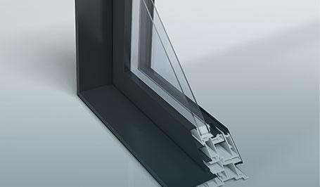 Matériaux Fenêtre Concerto à Guillotine Par Portes Et Fenetres